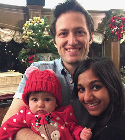 Dr. Radhika Smith and her family