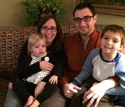 Dr. Kushnir and his family