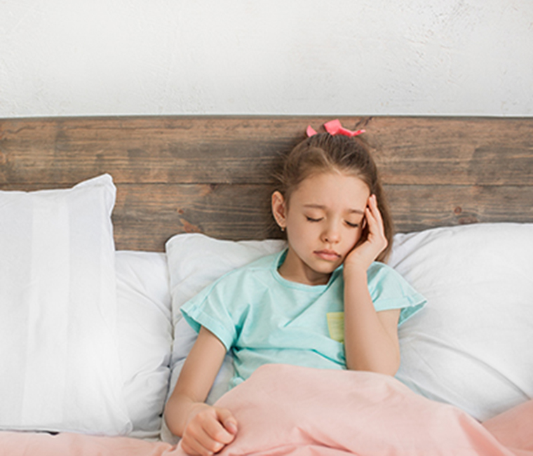 Yes, kids have migraines too