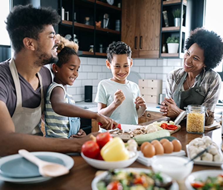 Healthy eating and meal planning for busy families